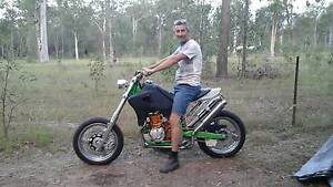 Honda xr650r full custom plus superchargers Bundall Gold Coast City Preview
