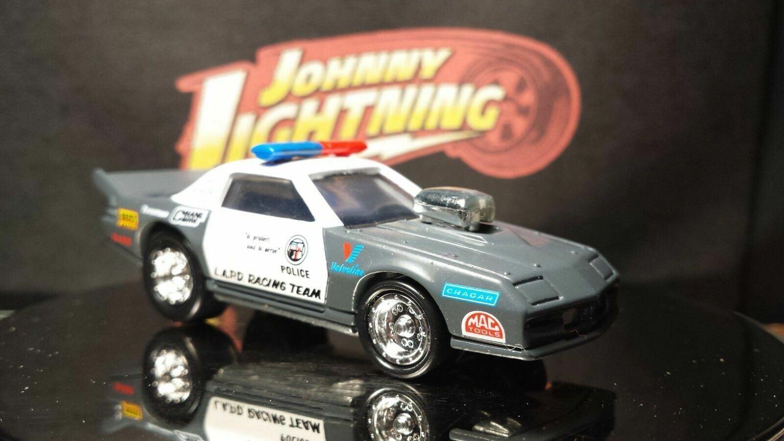 Johnny Lightning Dragsters USA /'92 LAPD Tony Foti Blue//White 1//64 FREE SHIPPING