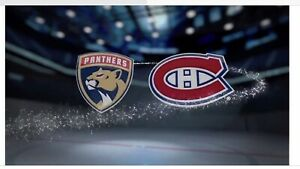 Billets Canadiens VS Panthers
