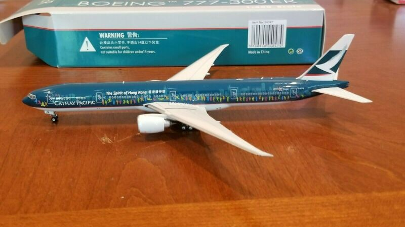 Phoenix Models Cathay Pacific B 777-367ER 1:400 Spirit of Hong Kong B-KPB