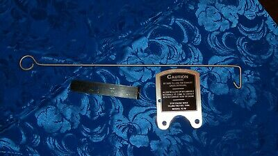 Maytag 92 Caution Plate 92m Kill Switch New