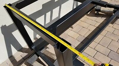 Heavy Duty Bench Table Metal Frame Work Bench