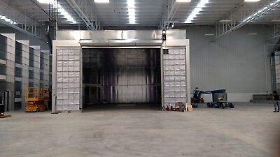 Truck Paint Spray Boothcross Draft 40 Wide X 25 Tall X 55 Long