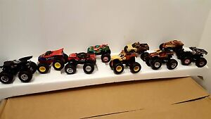 OFFICIAL MONSTER JAM MINI TRUCK COLLECTION characters