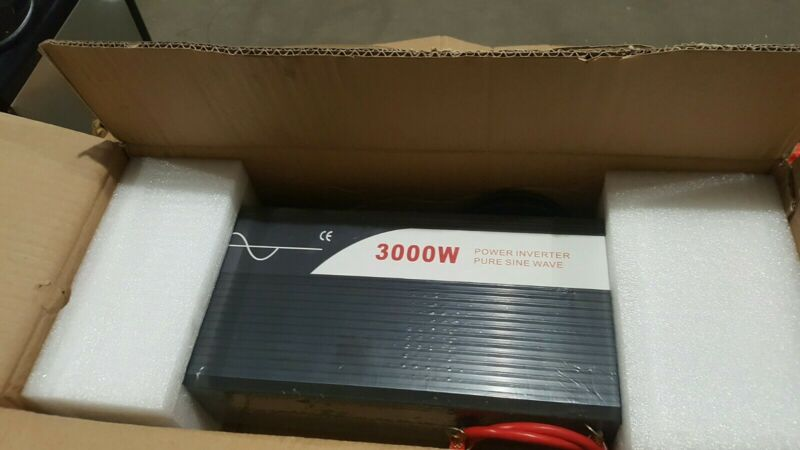 Pure Sine Wave Power Inverter 3000W(Peak6000W) DC 12V/24V/48V to AC120V