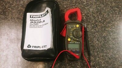 Triplett - 9320-a - True Rms Acdc Clamp-on Meter