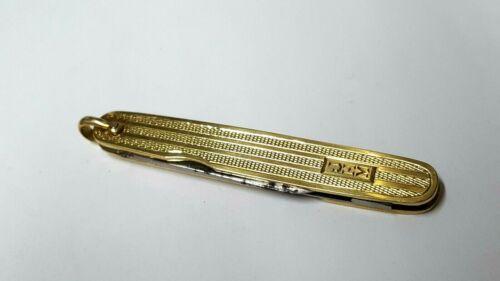 Antique/Vintage 14K Yellow Gold Folding Pocket Knife & File FOB w/Monogram