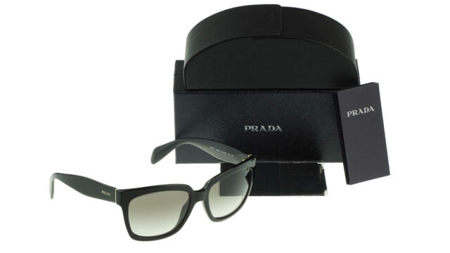 a4b89d7db6c ... low price asian fit classy new authentic prada heritage black sunglasses  spr 07p a 1ab 0a7