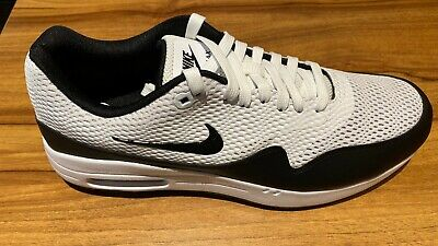 NIKE AIR MAX 1 MESH GOLF SHOES - 9.5UK - BRAND NEW WITH BOX - WHITE/BLACK