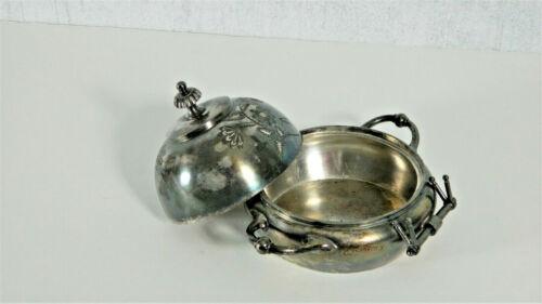 meriden silverplate butter dish 1439
