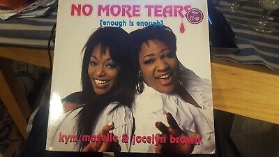 """Kym Mazelle & Jocelyn Brown No More Tears (Streisand/Summer cover) 12"""" 4 mixes"""