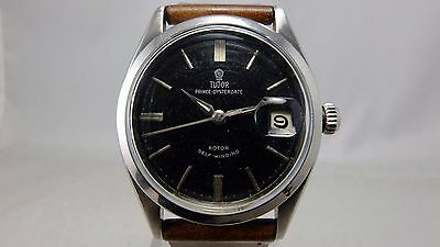 TUDOR ROLEX VINTAGE 1960 PRINCE OYSTER DATE SELF-WINDING AUTOMATIC WATCH, 7966