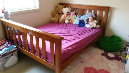 Botany queen size bed with mattress