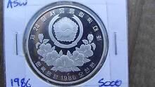 South Korea 1986 silver proof coin Baldivis Rockingham Area Preview
