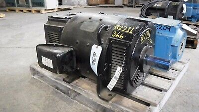 60 Hp Powertron Dc Electric Motor 1800 Rpm Fr 366at Dpbb 240 V Eok