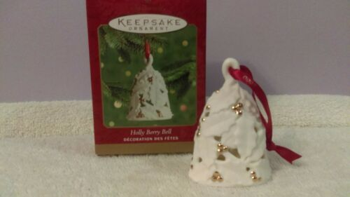 Hallmark Keepsake Ornament Holly Berry Bell EX495