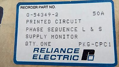 Reliance Electric 0-54349-2 Phase Sequencer Ls Supply Monitor Sealed