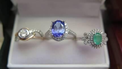 DIAMOND / EMERALD / SAPPHIRE / RUBY / TANZANITE RINGS FOR SALE