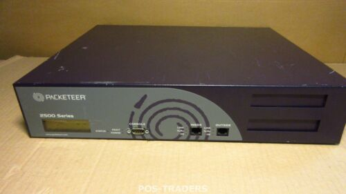Packeteer PacketShaper 2500 - network monitoring device INCL CABLES - IN BOX