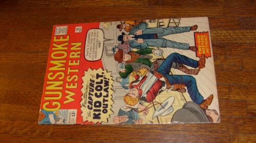"GUNSMOKE WESTERN #76 with KID COLT OUTLAW, ""VERYGOOD"""