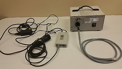 Br Surgical Hls-150 Light Source Camera Control Head And Fiber Optic Inv 2947