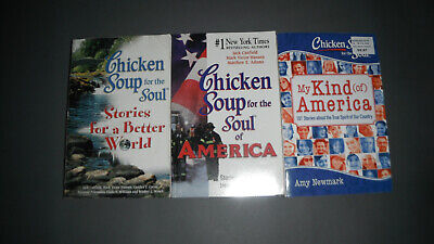 Chicken Soup for the Soul Books - a Better World, America and My Kind of (The Worlds Best Chicken)