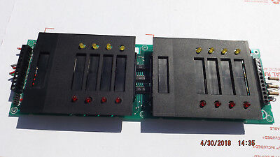 Notifier 562-777 Rev D. 8 Point Monitor Card For Simplex 4002 Fire Alarm