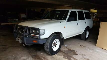 1996 Toyota LandCruiser SUV Mackay Mackay City Preview