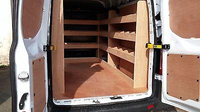 Ford Transit NEW Custom LWB COMPLETE Van Racking Plywood Shelving  Storage tools
