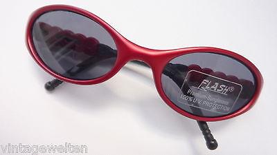 Flash Junior Sonnenbrille Mädchenbrille rot leicht klein preiswert neu size K