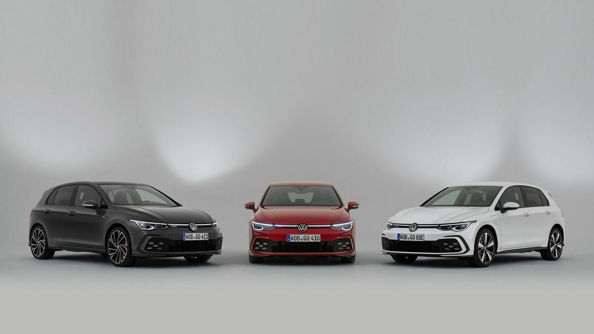 VW Golf-Derivate