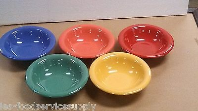 (LOT OF 5) 14 OZ BOWL Heavy Weight Melamine CEREAL SOUP SALAD CHILI GUMBO PASTA