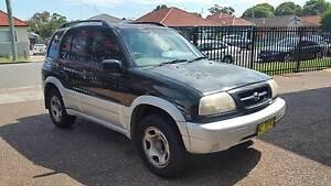 1999 Suzuki Grand Vitara (4x4) 2.5L V6 Wagon - Manual Waratah Newcastle Area Preview
