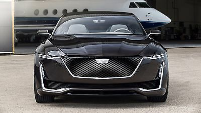 2016 Cadillac Escala Concept 2 front  - 24X36 inch poster, sports car