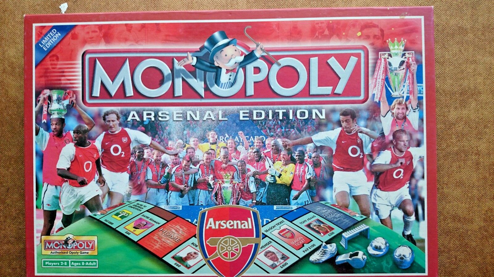 Arsenal Monopoly Game  Limited Edition 2002