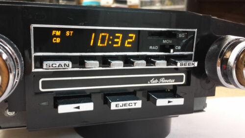 Delco Cassette Auto Reverse CB ETR 2700 OEM car radio Complete set