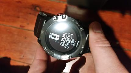 Sapphire edition fenix 5x garmin gps watch