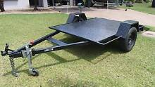 BRAND NEW 7x5 FLAT BED QUAD BIKE TRAILER 750KG RATED WITH RAMPS Gunn Palmerston Area Preview