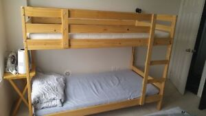 IKEA Bunk Bed with Mattresses for SALE!!