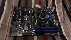 Motherboard and 2 x 4gb Kingston Hyper X Genesis Golden Grove Tea Tree Gully Area Preview