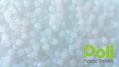 Pure White Plastic Poly Pellets. Reborn, Bear Doll, Autism Weighted Blankets
