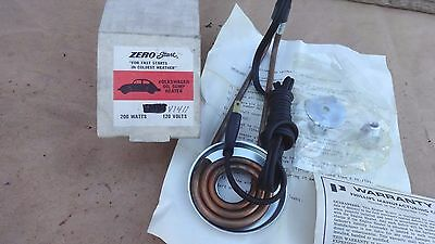 NOS Volkswagen Beetle ENGINE OIL HEATER for Type-4 VW engines zero start bug bus