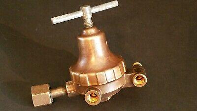 Vintage Airco Oxygen Torch Welding Regulator Compressed Gas Gauge 327l