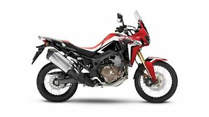 2017 Honda Africa Twin DCT Low KM Demo Rally Red Includes Hard B