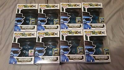 Blue Crystal Heisenberg Funk Pop Comic Con/ Summer Con SDCC 2015 Breaking Bad