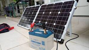 Camping portable solar and battery