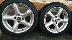 """15"""" Rims and Tyres 195/50R15 Dandenong South Greater Dandenong Preview"""
