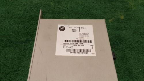 ALLEN BRADLEY 4100-AEC SER B TRANSDUCER ENCODER OUTPUT MODULE (O-5/B)