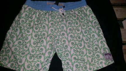 Pink House Mustique Swim Trunks / Shorts