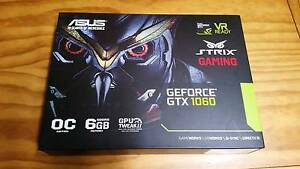 3x Asus GTX 1060 STRIX OC (STRIX-GTX1060-DC2O6G 6GB) Panorama Mitcham Area Preview